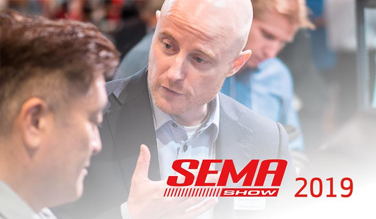 Gearing up for the SEMA Show 2019