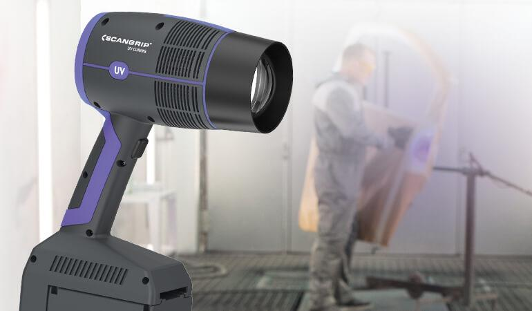 New hand-held UV-GUN for extremely fast curing